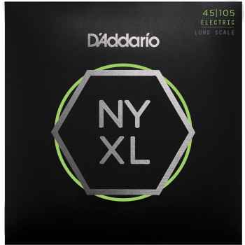 D´addario NYXL45105 Long Scale cuerdas para bajo